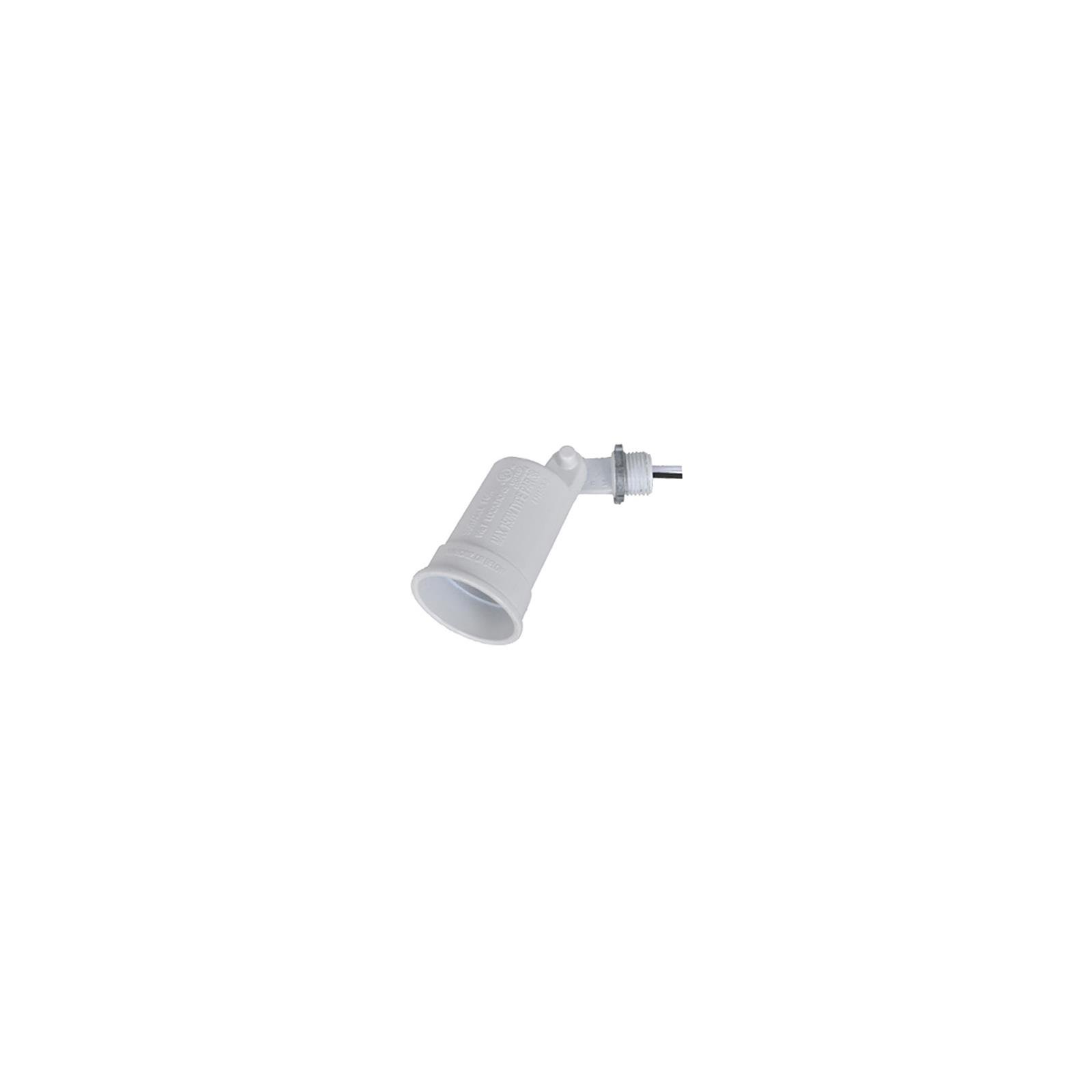Hubbell Electrical Products LH150-2-W White Weatherproof Porcelain Socket Lampholder - Quantity 25