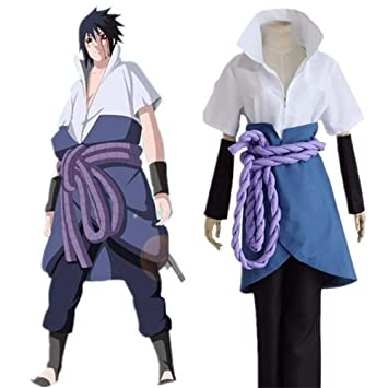 Amazon.com : Anime Cosplay Naruto Ninja Sasuke Uchiha ...