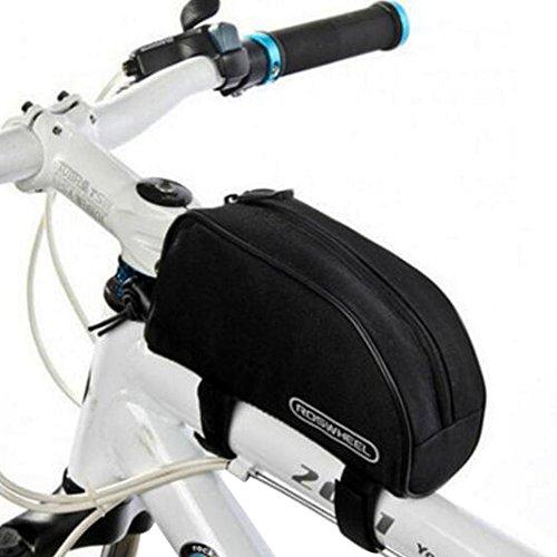 Fahrrad-Rohrrahmen Fahrradtasche Wasserdicht Bike Bag Front Fahrradlenkertaschen-A8