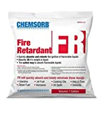 Chemsorb Fr - Flammable Liquid Retardant Absorbent, 1 Gal. Bag, SP40FR-L1B, Silica Free Absorbent for Flammable Chemicals, Proprietary De-Dusting Technology, Absorbs While Acting As A Fire Retardant