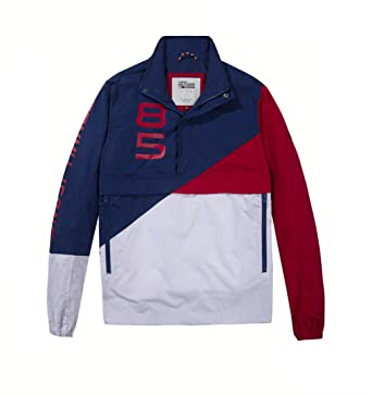 Chaqueta Tommy Jeans Retro Block XL Multicolor: Amazon.es: Ropa y accesorios