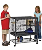 MidWest Critter Nation Animal Habitat with Stand, Single Unit, 36 Inches by 24 Inches by 39 Inches