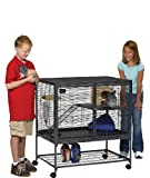 MidWest Deluxe Critter Nation Single Unit Small Animal Cage (Model...