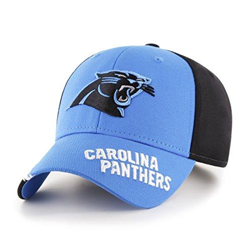 - NFL Carolina Pantshers Youth Rivet OTS All-Star MVP Adjustable Hat, Youth, Black