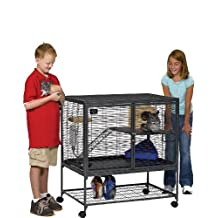 Midwest Critter Nation Animal Habitat with Stand, Single Unit, 36-Inch by 24-Inch by 39-Inch
