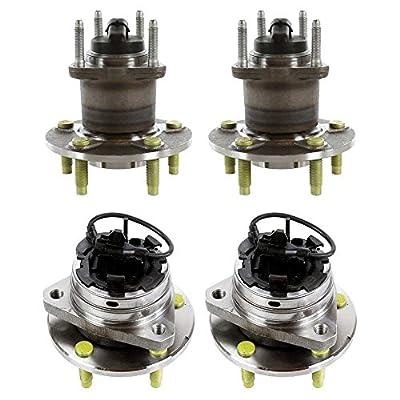Prime Choice Auto Parts HB216-287 2 Front & Rear Wheel Hub Bearing Assemblies
