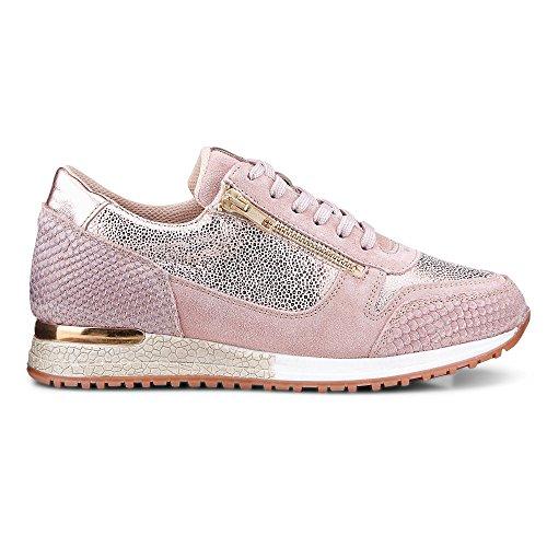 Cox Damen Trend-Sneaker Rosa
