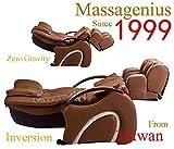 Massagenius Massage Chair - 1488 Dual Recline 3D Shiatsu