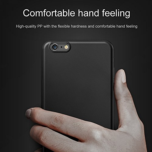 GHC Cases & Covers, Baseus für iPhone 6 & 6s, ultradünnes Full Coverage PP-Material Schutzhülle ( Size : Ip6g2546bw )