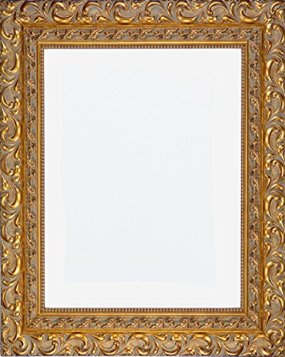 Designer 20x25 Ornate Gold Finish Frame, 4 1/2'' wide by Art Oyster