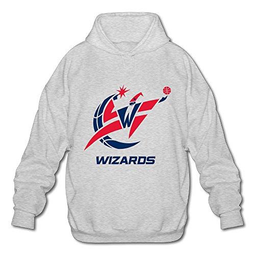 Men's Washington Wizards Logo 2016 Hooded Sweatshirt Fashion Design Hoodie