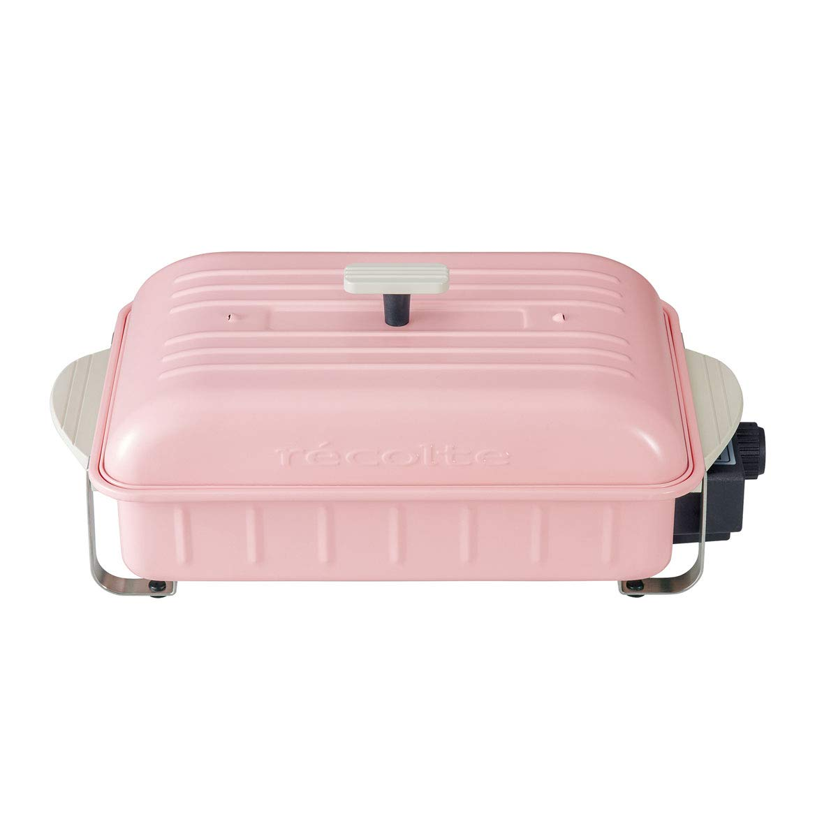 ホームバーベキュー 全オプション プレート付きSET (ピンク)  ピンク B07LH6YJ9K
