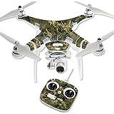 MightySkins Protective Vinyl Skin Decal for DJI Phantom 3 Standard Quadcopter Drone wrap cover sticker skins TrueTimber Viper Woodland