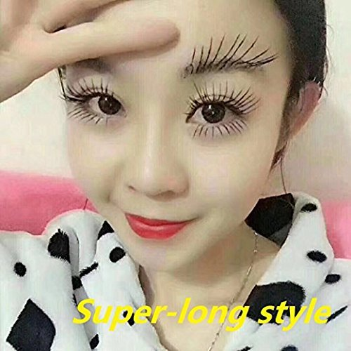 Amazon.com: DDK 4D Mascara Cream Makeup Lash Cold Waterproof Mascara Eye Black Eyelash Extension crazy long Style Warm Water Washable Mascara: Beauty