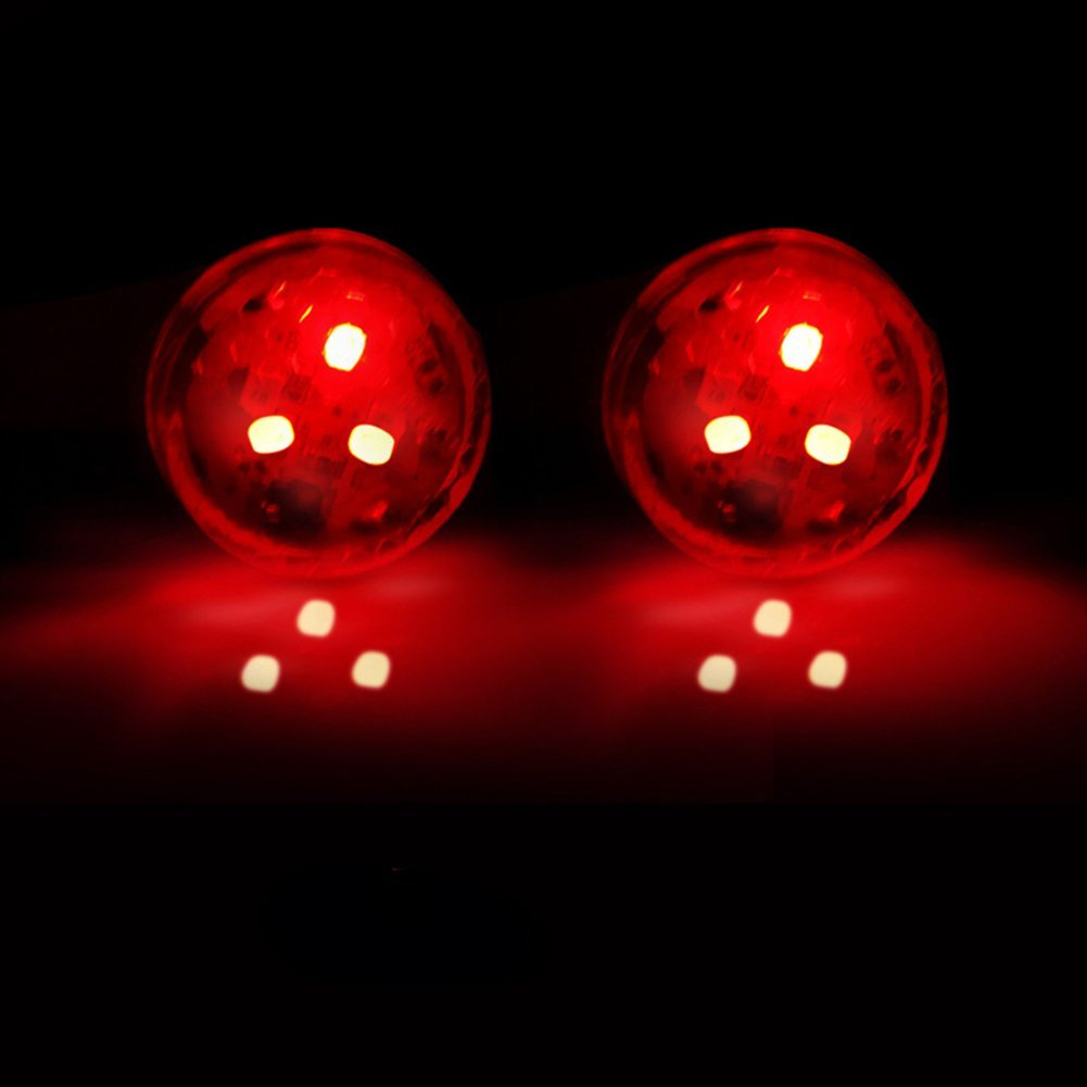 SELUXU 2x Universal Car Door LED Opened Warning Flash Light Kit Wireless Anti-collid 9441Y6V1415ULDI7