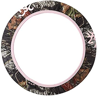 Browning Steering Wheel Cover SPG Pink Break-Up Country Camo Single Signature Products Group BSW4403