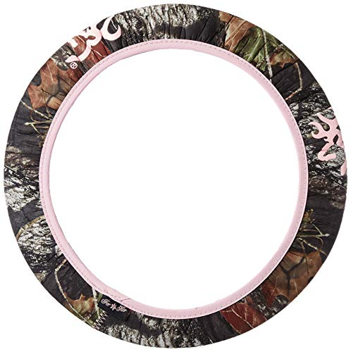 Browning Steering Wheel Cover | Pink Break-Up Country Camo | Single