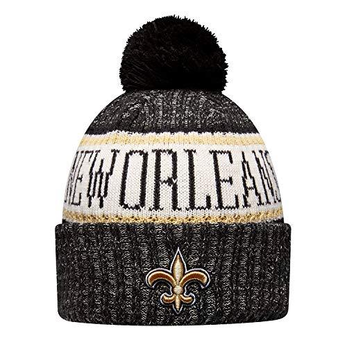 - New Era New Orleans Saints NFL On Field 18 Sport Knit Beanie Beany Mütze