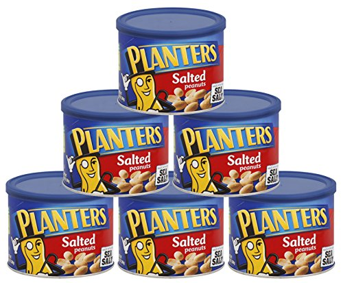 Planters Salted Peanuts, 9.5 oz Can
