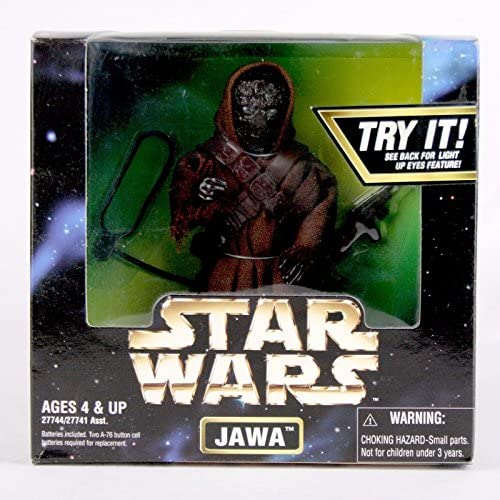 """Kenner Star Wars Action Collection • 1997 • 12/"""" JAWA with light-up eyes"""