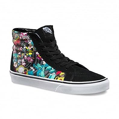 d57e21e1e0 Vans Disney Damen Schwarz Rabbit SK8-Hi Sneakers: Amazon.de: Schuhe ...