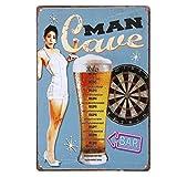20x30cm Vintage Metal Tin Sign Plaque Wall Art Poster Cafe Bar Pub Beer #10