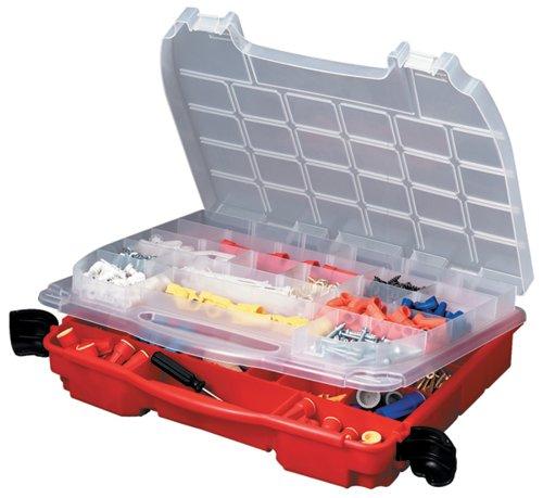 Plano Molding (Plano Molding 5231 Double Cover Stow N Go Organizer, Porsche Red)