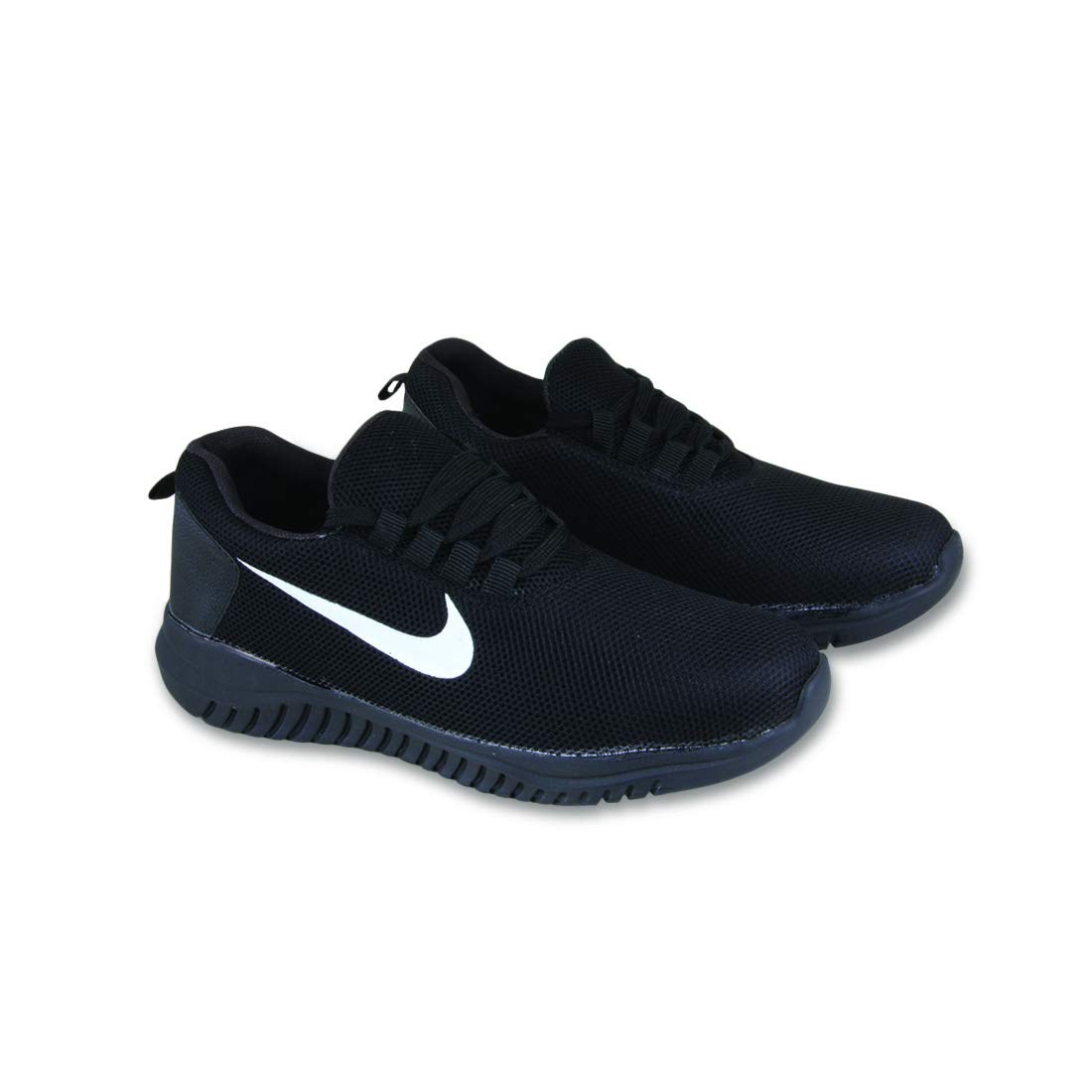 FABBMATE Black Sports Shoes for Men