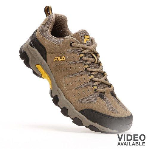 FILA Brown Travail Trail Shoes - Men