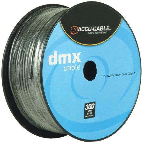 American DJ 3-Pin DMX Cable 300 Ft (Cable Bulk Dmx)