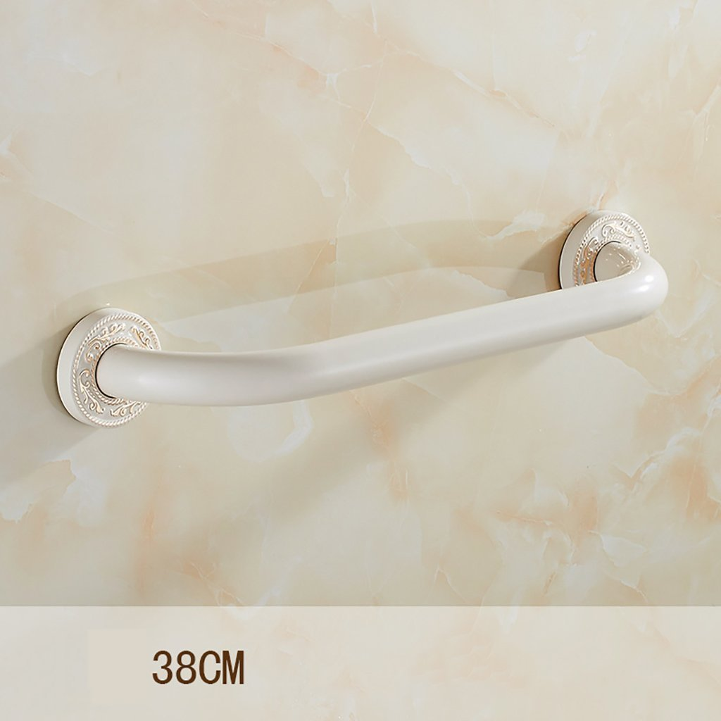 YAOHAOHAO Stainless steel bathroom handrail obstacle to maintain the aid/Communities shower style Help & Support Security Handrail (Size: 38 cm).