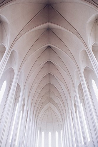 Home Comforts LAMINATED POSTER Architecture Arches Church Cathedral Interior Nave Poster