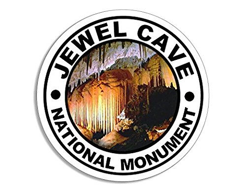 Jewel Cave National Monument Sticker South Dakota - Sticker Graphic - Auto, Wall, Laptop, Cell Auto, Wall, Laptop, Cell Phone, Notebook, Bumper, Window, Truck