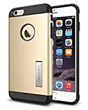 Spigen Slim Armor iPhone 6 Plus Case with Kickstand and Air Cushion Technology and Hybrid Drop Protection for iPhone 6S Plus/iPhone 6 Plus - S Champagne Gold