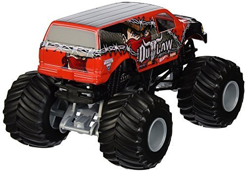 Hot Wheels Monster Jam 1:24 Iron Outlaw Vehicle Gift Pack Car Toys