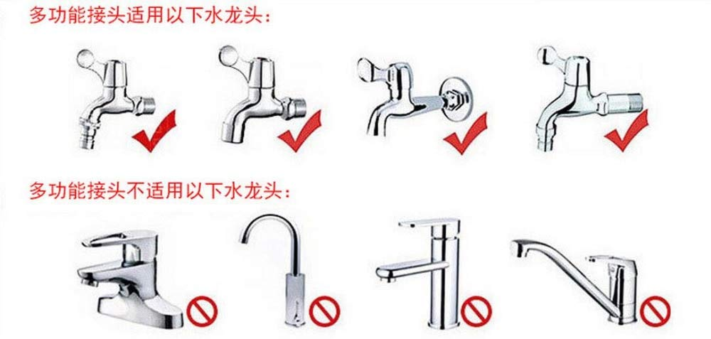Kammas Universal Quick connectors Nipple Joint Water Hose Pipe Head Faucet Connection by Kamas