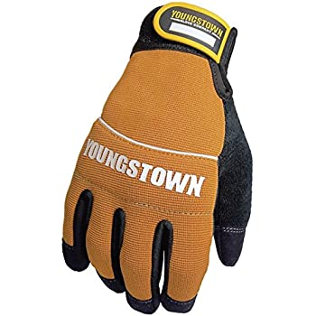 Youngstown Glove 06-3040-70-L Tradesman Plus Performance Glove Large, Brown
