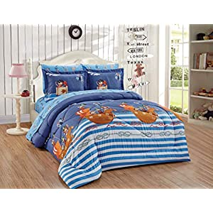 51u25phFN8L._SS300_ Pirate Bedding Sets and Pirate Comforter Sets