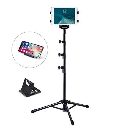 iPad soporte de suelo, weiyudang altura ajustable 30 A 60 pulgadas ...