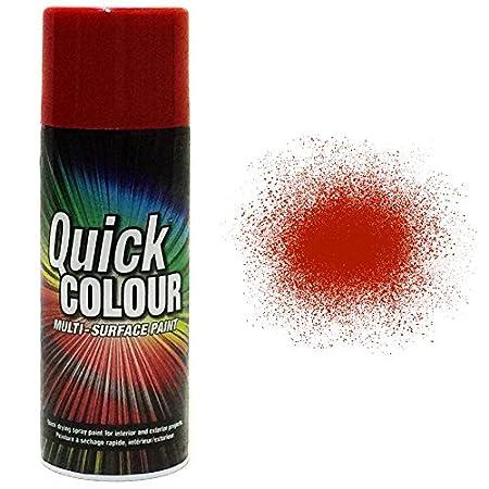 Quick Colour Ae0220203e8 Spray Paint Cherry Red