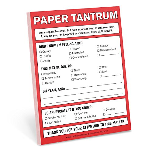 Knock Knock Paper Tantrum Nifty Notes (12128)
