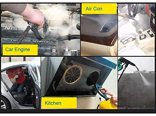coche Limpiador de vapor a presi/ón para lavado de chorros temperatura m/áxima de 200 /°C alfombra limpieza de vapor NUZAMAS cocina