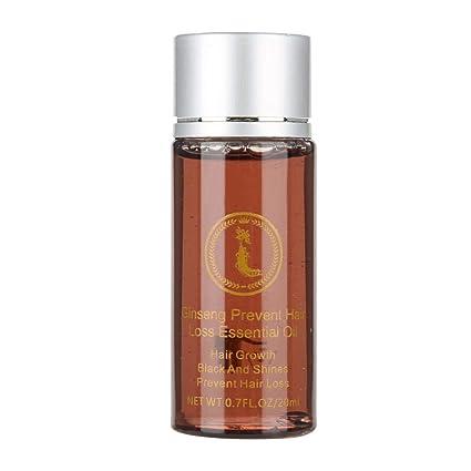 Serum para cabello Aceite esencial para el crecimiento de ginseng natural para todos los tipos de