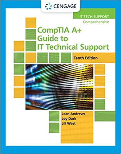CompTIA A+ Guide to IT Technical Support (MindTap Course