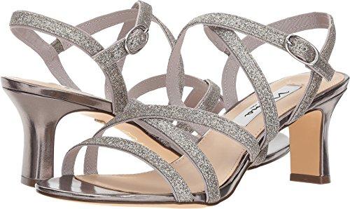 NINA Women's Genaya Stone 7.5 M - Evening Strappy Sandals