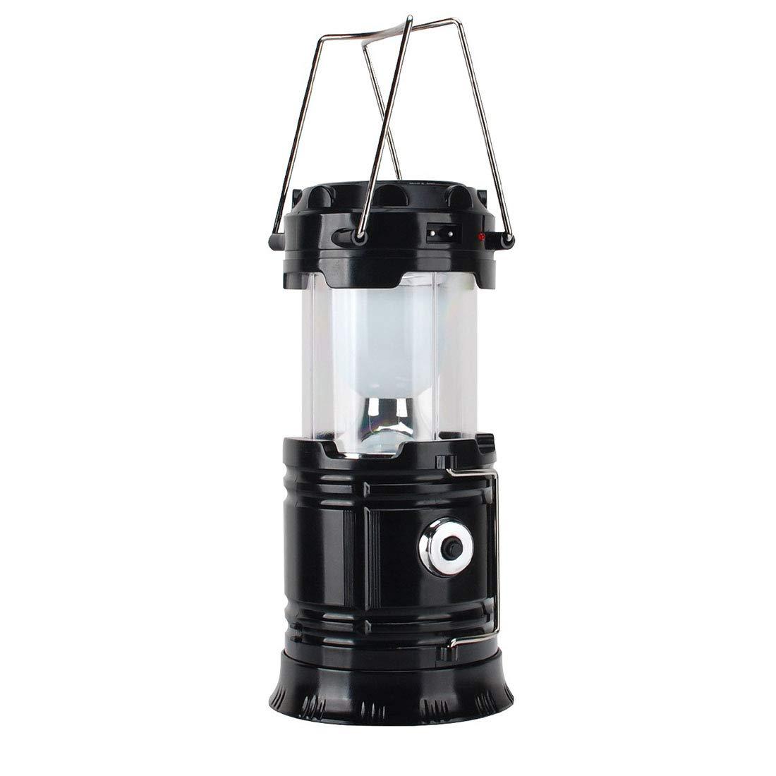 disponibile JESSIEKERVIN YY3 Luce di di di Campeggio Multifunzionale Luminosa Eccellente Luce di Campeggio Esterna Leggera Solare Portatile Luce di Emergenza Leggera della Tenda (Colore   nero)  risparmia fino al 70% di sconto