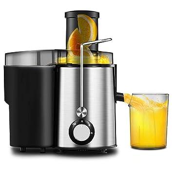 Lywljg Exprimidor de jugo de fruta de múltiples funciones automático hogar exprimidor de la máquina: Amazon.es: Hogar