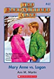 Mary Anne Vs Logan (Baby-Sitters Club, 41) by Ann M. Martin front cover