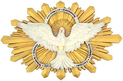 Amazon.com: Gifts of the Holy Spirit Confirmation Wall Plaque, 9 3/4 Inch: Home & Kitchen