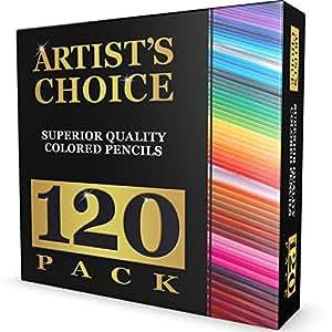 Amazon.com: Artist's Choice 120-Pack Colored Pencils